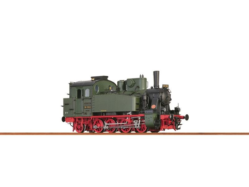 Tenderlok BR98.10 Bayern, II, AC/SR, Digital, Sound/Rauch H0