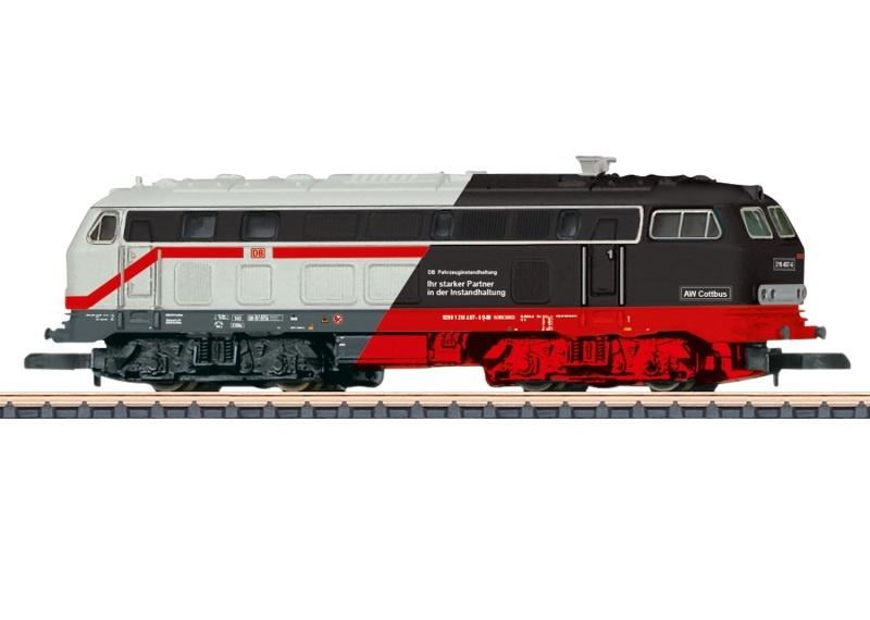 Diesellokomotive Baureihe 218, Spur Z