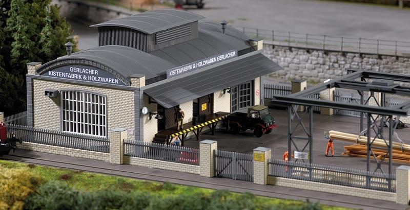 Kistenfabrik  Gerlacher, Bausatz, Spur H0