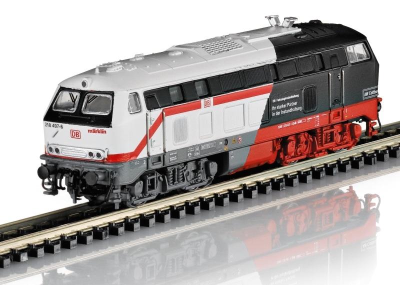 Diesellokomotive Baureihe 218 der DB AG, Minitrix Spur N