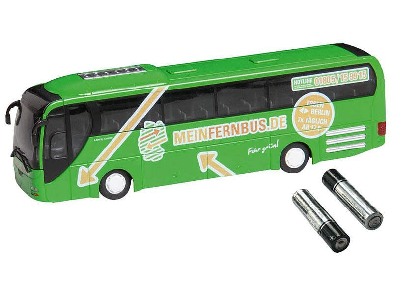 MAN Lions Coach Bus MeinFernbus Car System (RIETZE) H0