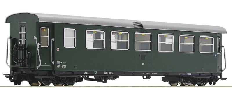 Schmalspur-Personenwagen 2. Klasse der ÖBB, DC, Spur H0e