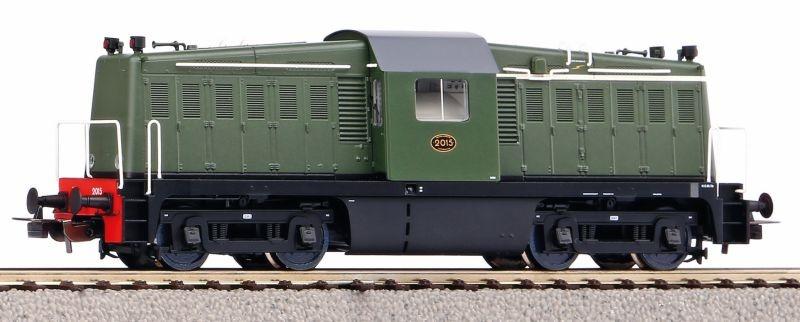 Diesellok Rh 2000 der NS, Ep. III, DC, Spur H0