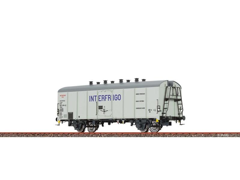 Kühlwagen Ibces, DB, IV, INTERFRIGO, DC, Spur H0