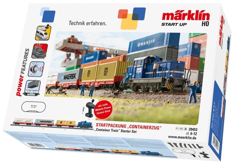 Start up - Startpackung Containerzug, Spur H0