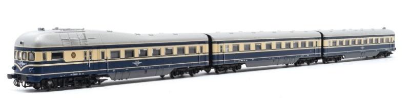 Triebzug Rh 5045 3-tlg. ÖBB, Ep.III/IV, Blauer Blitz, Spur N