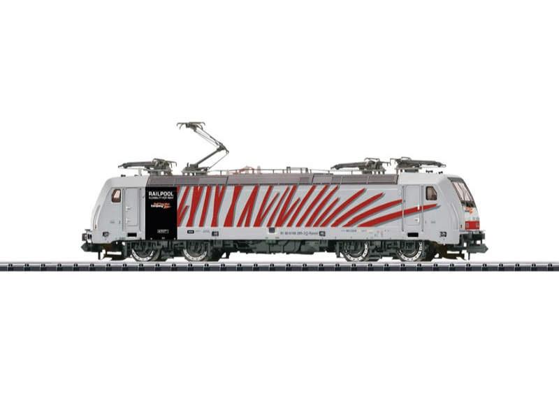 E-Lok BR 186 Railpool Spur N