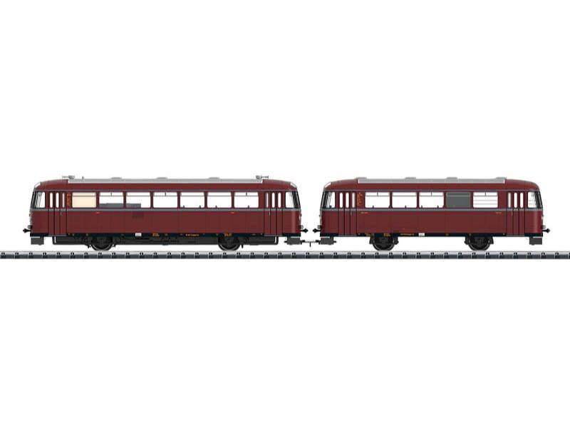 Schienenbus VT 95.9 + Beiwagen VB 140 der DB, mfx, DCC, H0