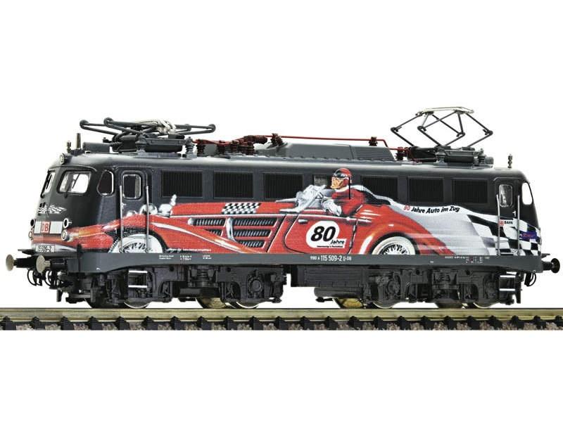 E-Lok 115 509-2 80 Jahre Autozug DB AG, DCC, DC, Spur N