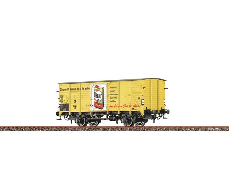 Gedeckter Güterwagen G10 DB, III, Glänzer, DC, Spur H0