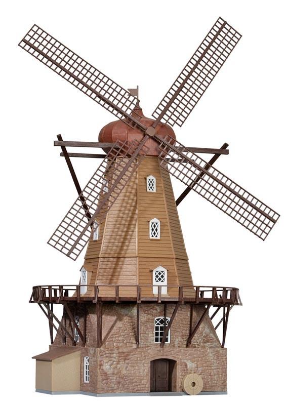 Windmühle in Hammarlunda, Bausatz, Spur H0
