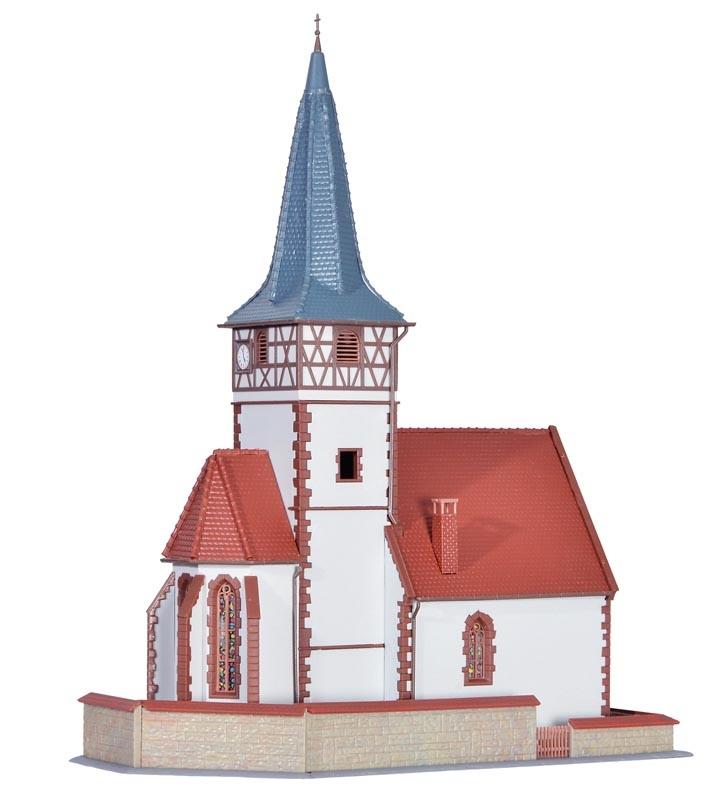 Dorfkirche Ditzingen, Bausatz, Spur H0