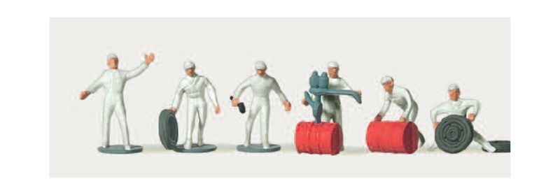 Autorennmonteure Figuren 1:160 / Spur N