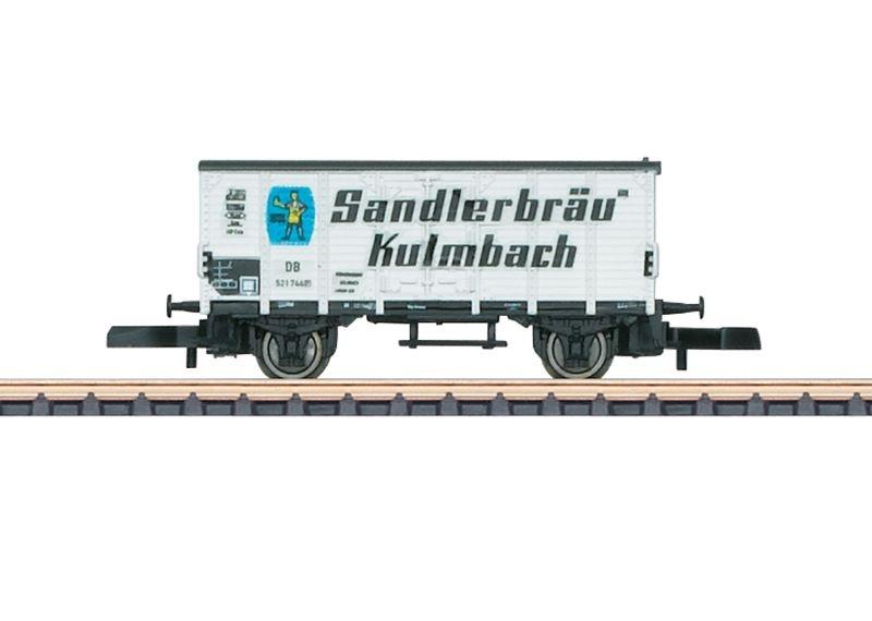 Bierkühlwagen Sandlerbräu, Spur Z