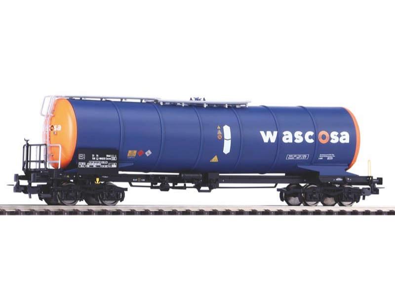Knickkesselwagen Wascosa, orange-blau, Epoche VI, Spur H0