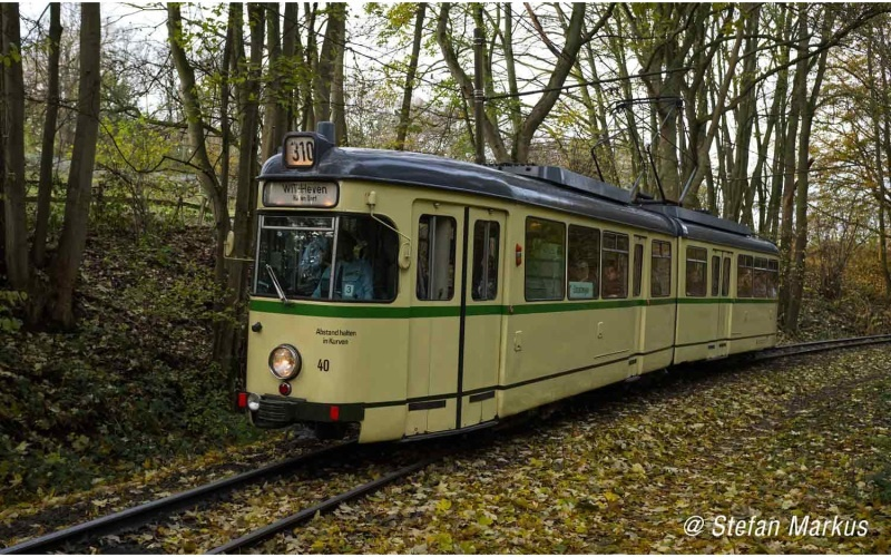 Straßenbahn, Duewag GT6, BOGESTRA, b., Ep.IV, DCC-Dec, H0,DC