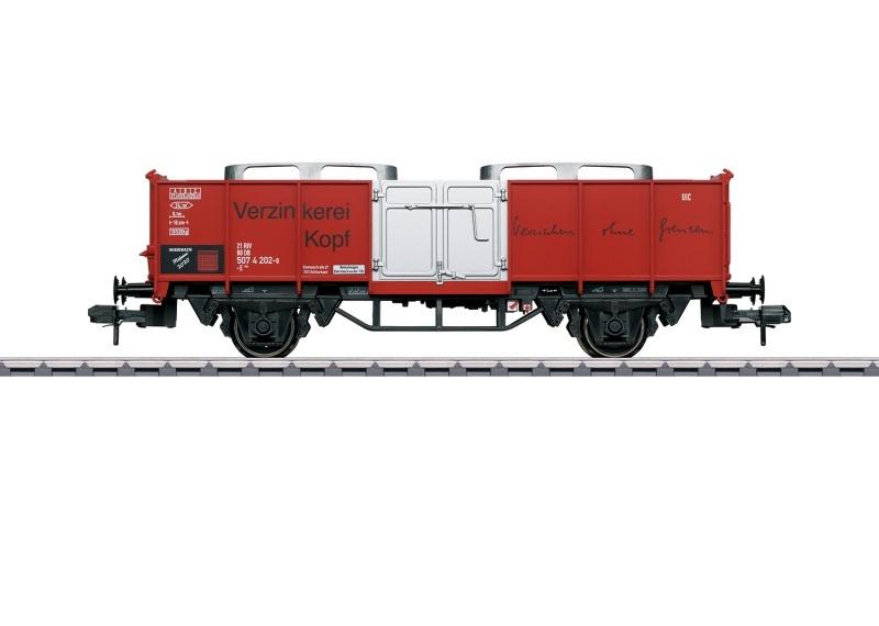 Museumswagen 2020 Verzinkerei Kopf, DB, DC, Spur 1