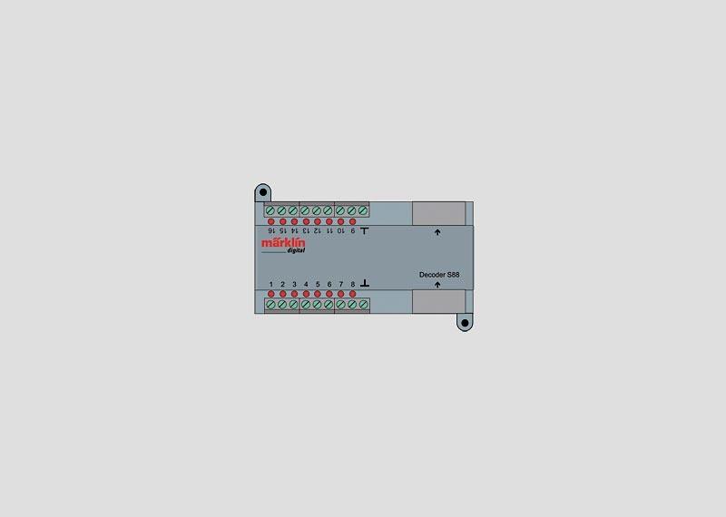 Rückmeldemodul Decoder s88 (RJ45)