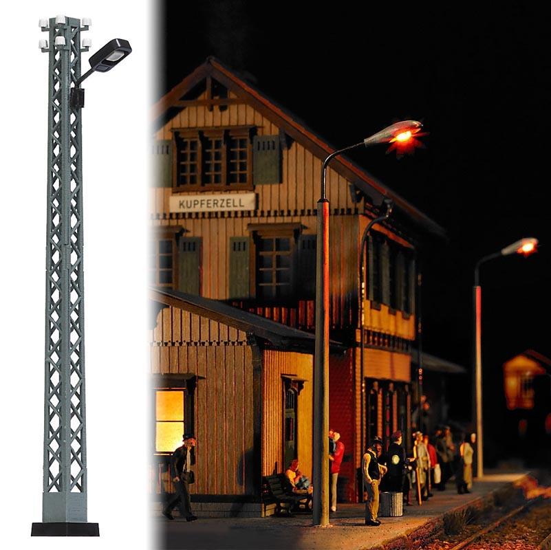 Gittermast-Lampe, Spur H0