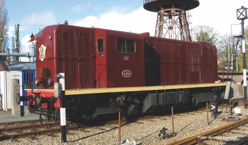 Sound-Diesellok Rh2400 NS,rotbraun,L-Licht, Ep. III, Spur N