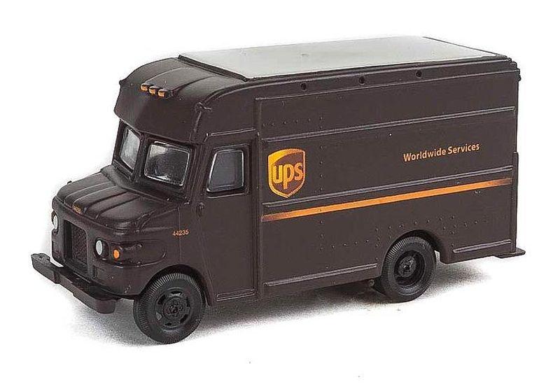 UPS Lieferwagen, neues Logo, 1:87 / Spur H0