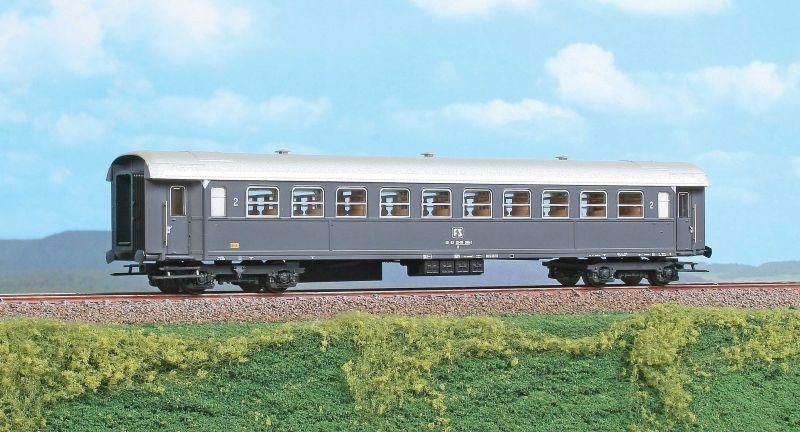 Personenwagen 2. Klasse Typ 1956R der FS, Epoche IV, Spur H0