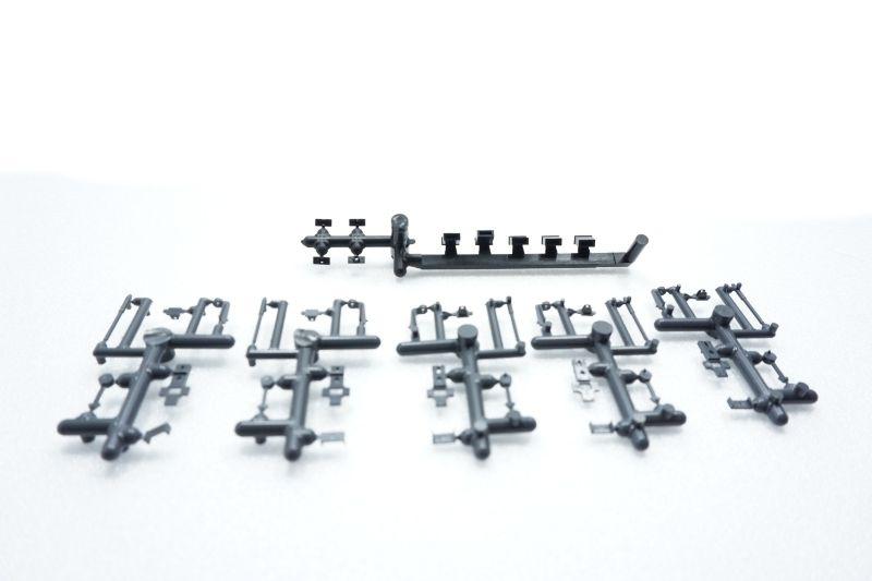 Weichenlaternen Bausatz der RhB, H0e, H0m, 5 Stück