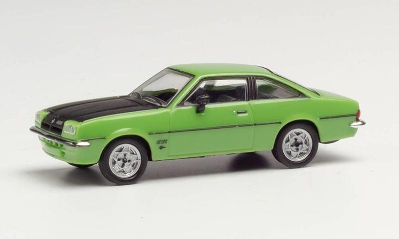 Opel Manta B, signalgrün, 1:87 / Spur H0