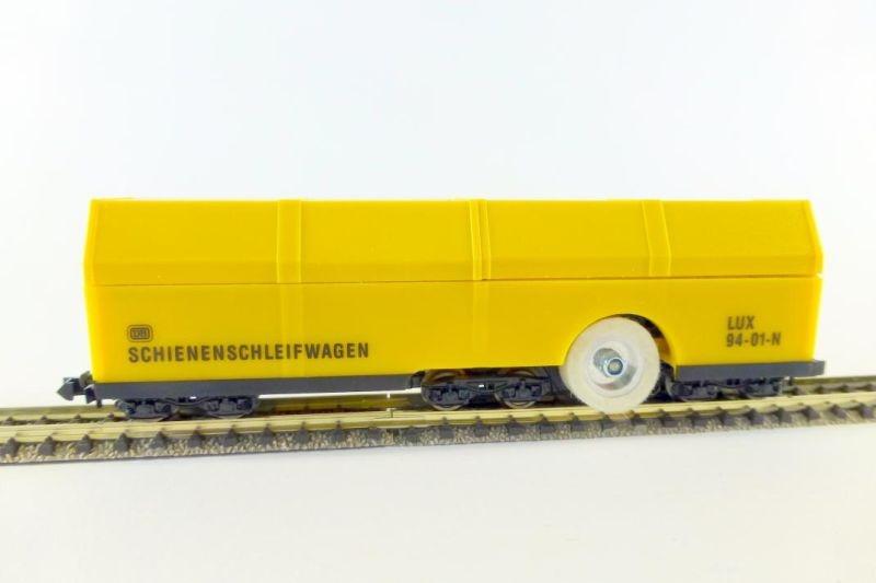 Schienenschleifwagen mit SSF-09 Steuerelektronik, Spur N