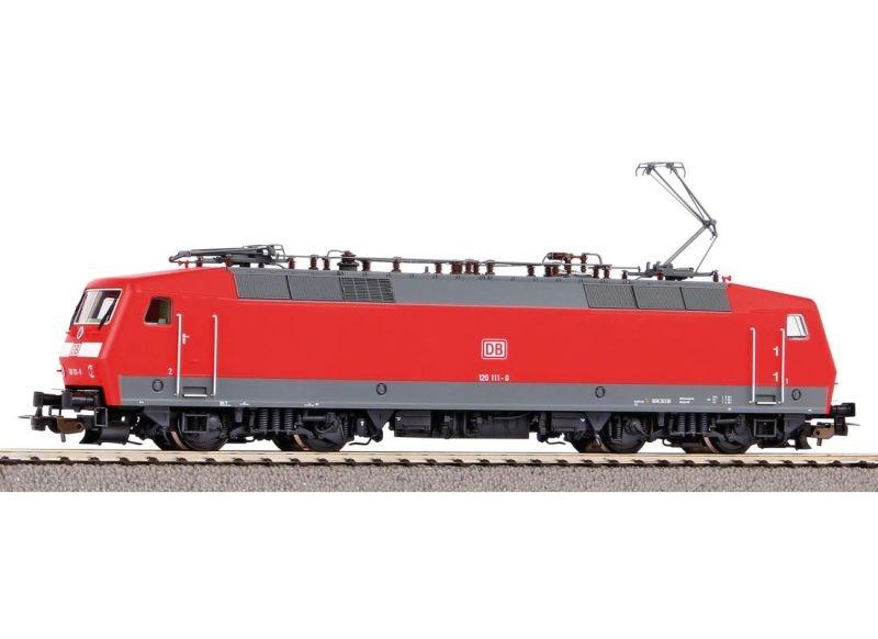 E-Lok BR 120 der DB AG verkehrsrot, Ep. V, DC, Spur H0