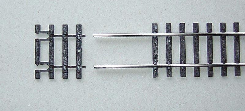 Gleisschwellen 31mm für Flexgleis, A-Gleis, Spur H0