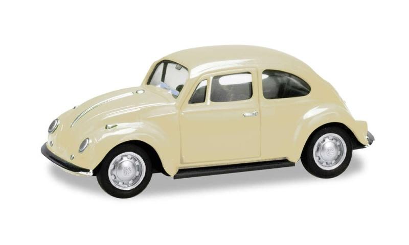 VW Käfer, elfenbein, 1:87 / H0