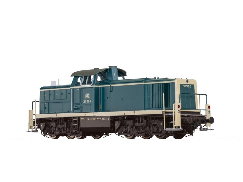 Diesellok BR290 der DB, Ep. IV, DC Digital EXTRA, Spur H0