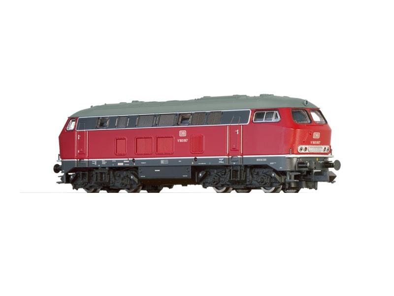 Diesellokomotive BR V160 der DB, III, DC, Spur N