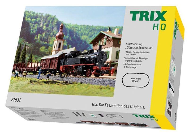 Startpackung Güterzug Epoche III der DR, DC, Spur H0