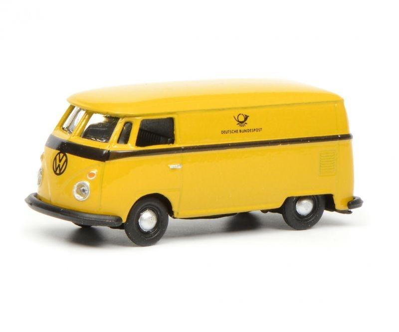 VW T1c Kastenwagen Deutsche Bundespost, gelb schwarz 1:87 H0