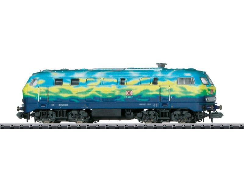 Diesellok Baureihe 218 DB Touristik-Lackierung 2 Spur N