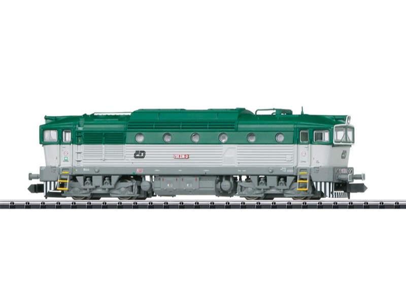Diesellok Serie 750 CD Spur N