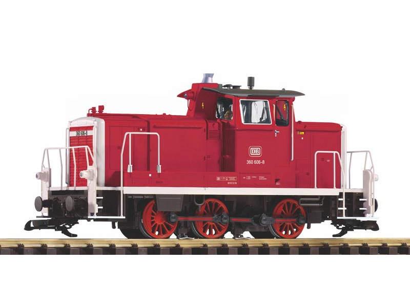 Diesellok BR 360 der DB, rot, Epoche IV, Spur G
