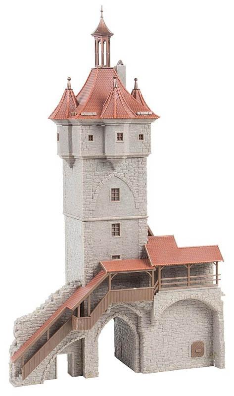 Historisches Stadttor Bausatz H0