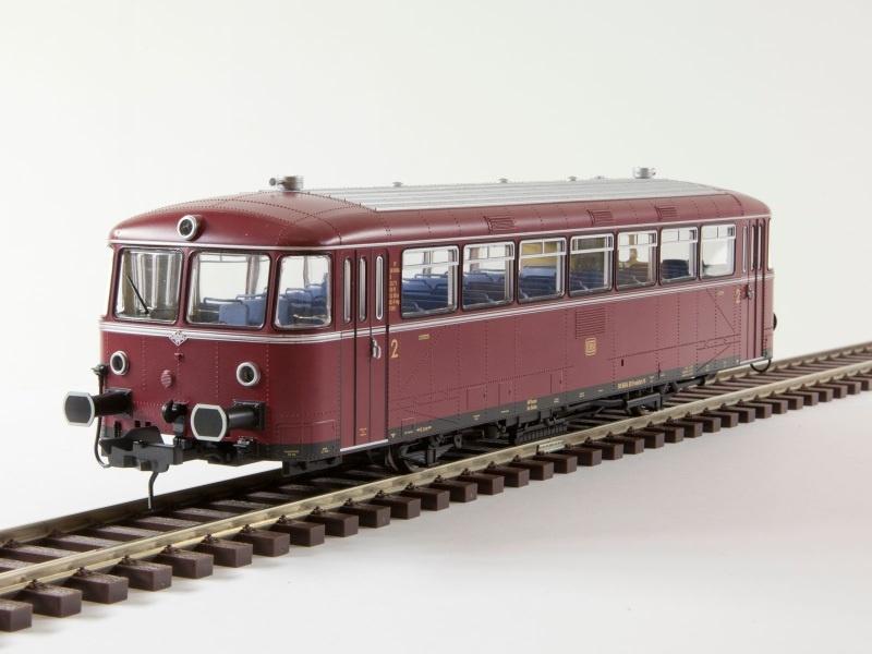 Schienenbus VT 98 Motorwagen, DB, Bw Buchholz, Ep.3, Spur 0