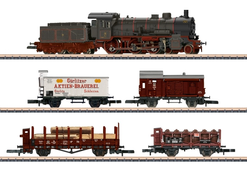 Zugpackung Länderbahn Güterzug der K.P.E.V., Spur Z