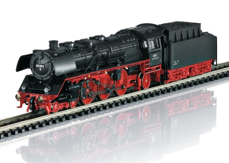 Dampflokomotive 003 268-0 der DB, Sound, Minitrix Spur N
