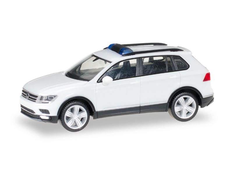 MiniKit: VW Tiguan, weiß, 1:87 / H0