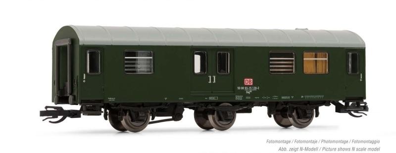 Gepäckwagen Bauart Dag 953 der DB AG, Ep. V, Spur TT