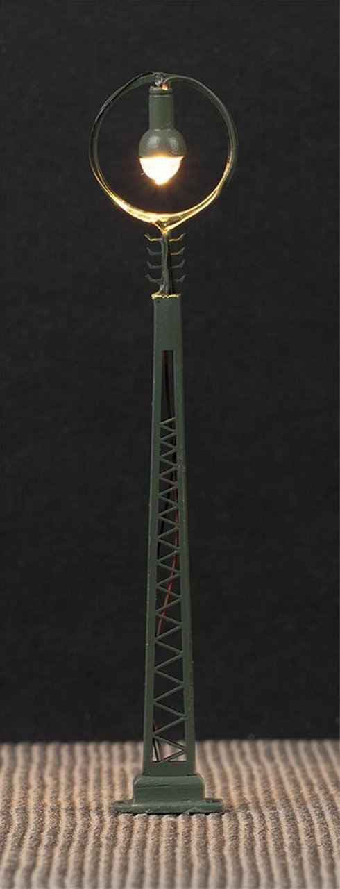 LED-Gittermast-Ringleuchte, 3 Stück, Spur N