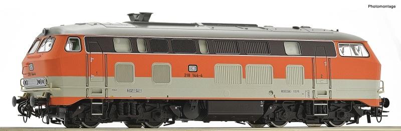 Diesellokomotive BR 218.1 der DB, DC, Spur H0