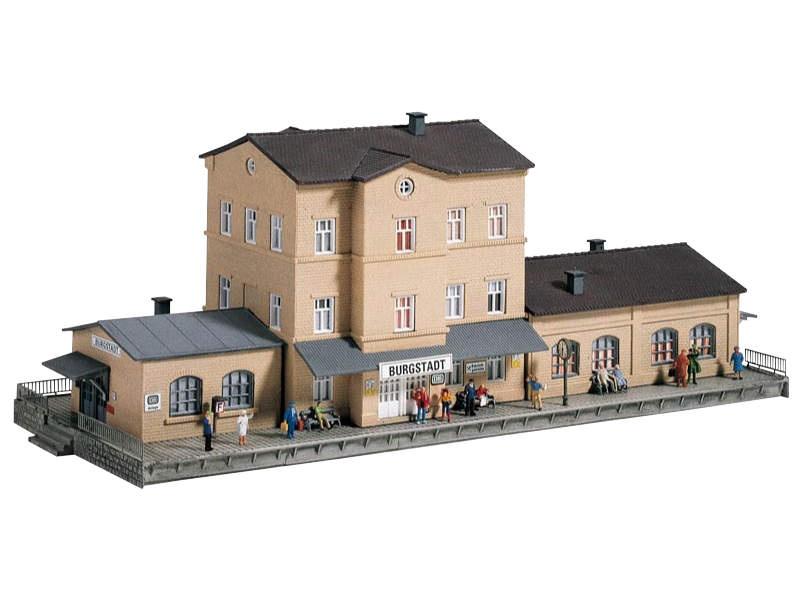 Bahnhof Burgstadt, Bausatz, Spur N
