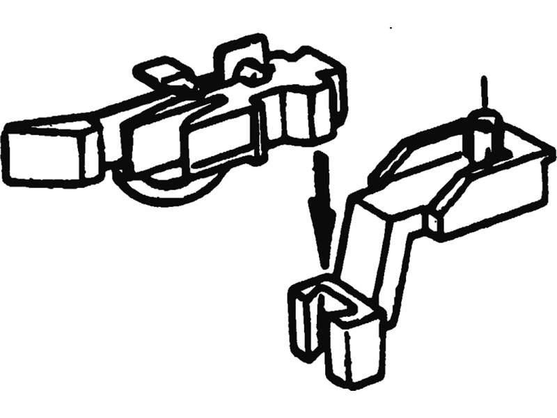 Kurzkupplungsköpfe für Fleischmann-Modelle H0