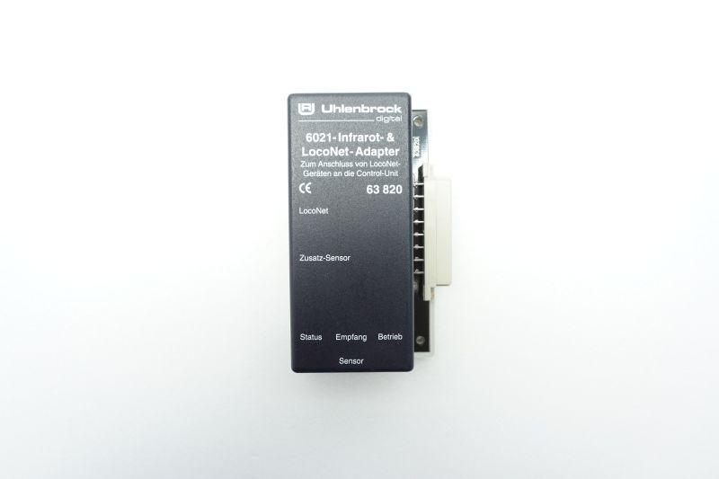 6021 - Infrarot- & LocoNet-Adapter